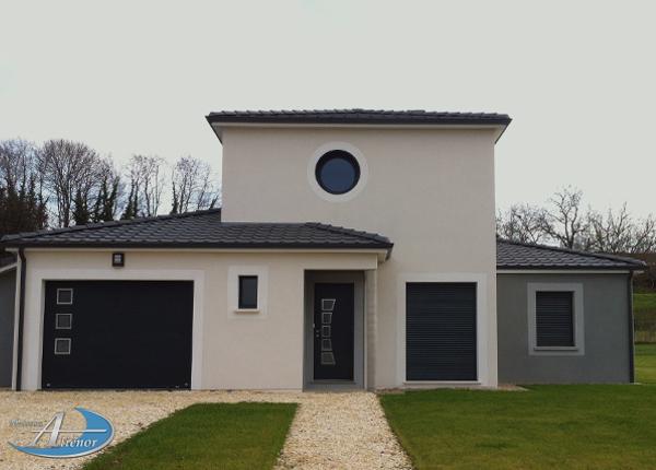 Faire construire en Dordogne maison à étage