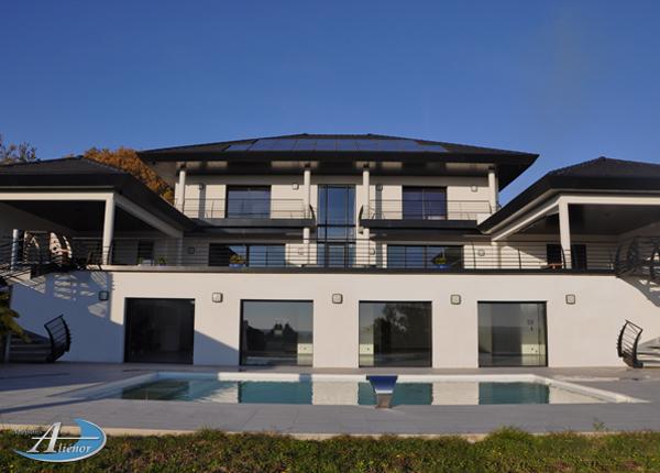 Contruire maison moderne avec architecte