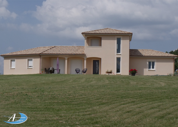 Maison plain pied 150m² Dordogne