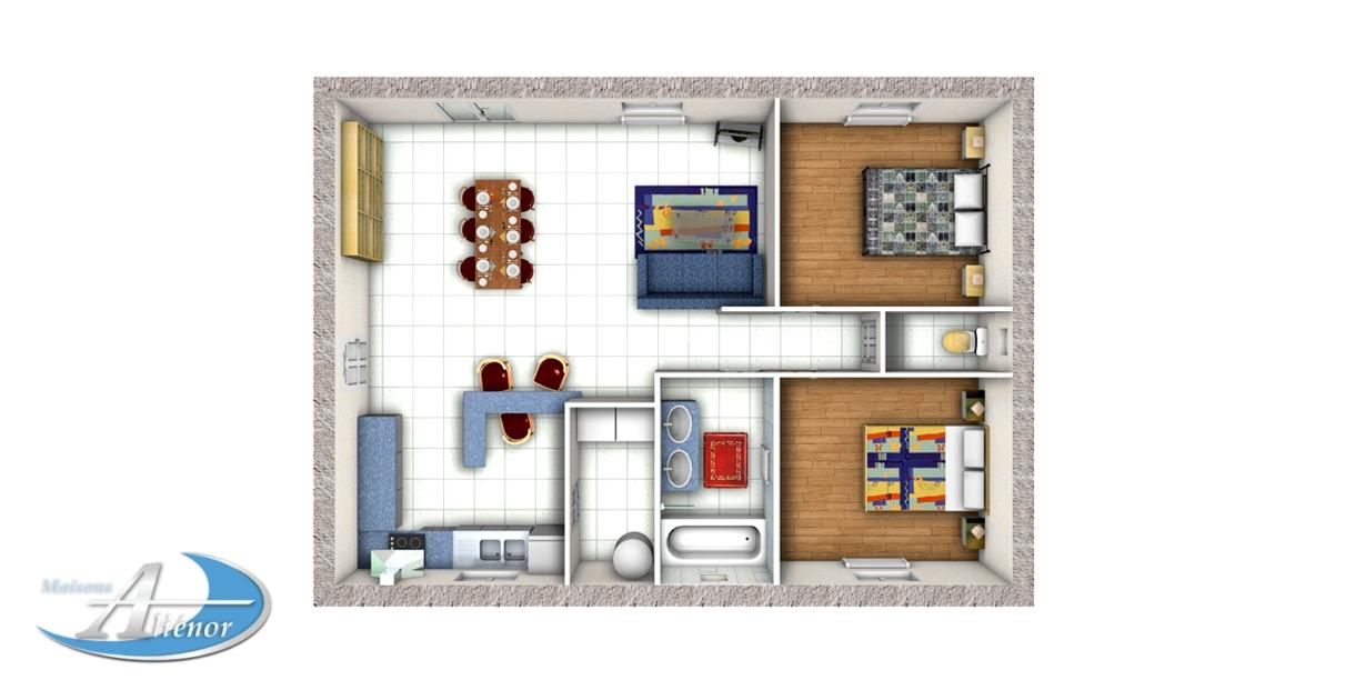 Plan-Maison-Contemporaine-33%-Perigueux-24- Faire-Construire-Maisons