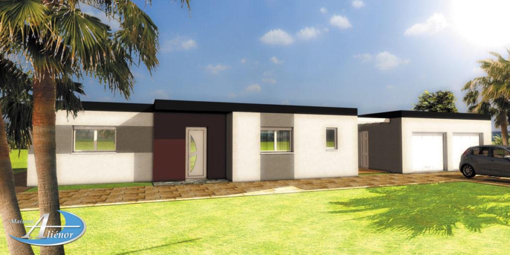 Plan-maisons-moderne-toit-plat-brive-corrèze-19- construction-brive-maisons-alienor
