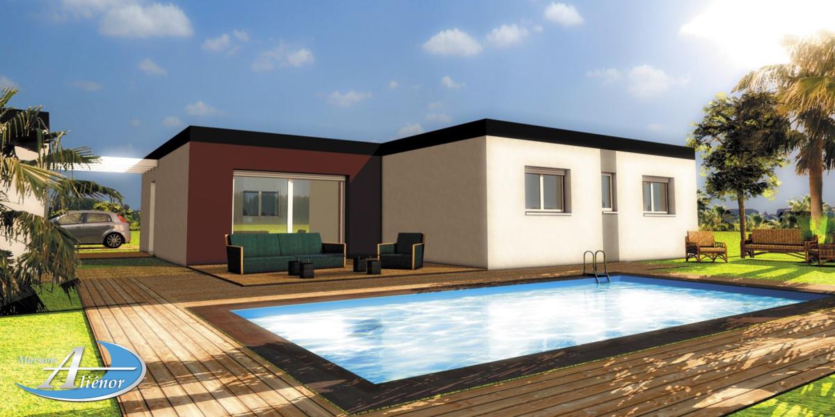 Plan maisons moderne toit plat brive corr ze 19 plans for Maison a batir
