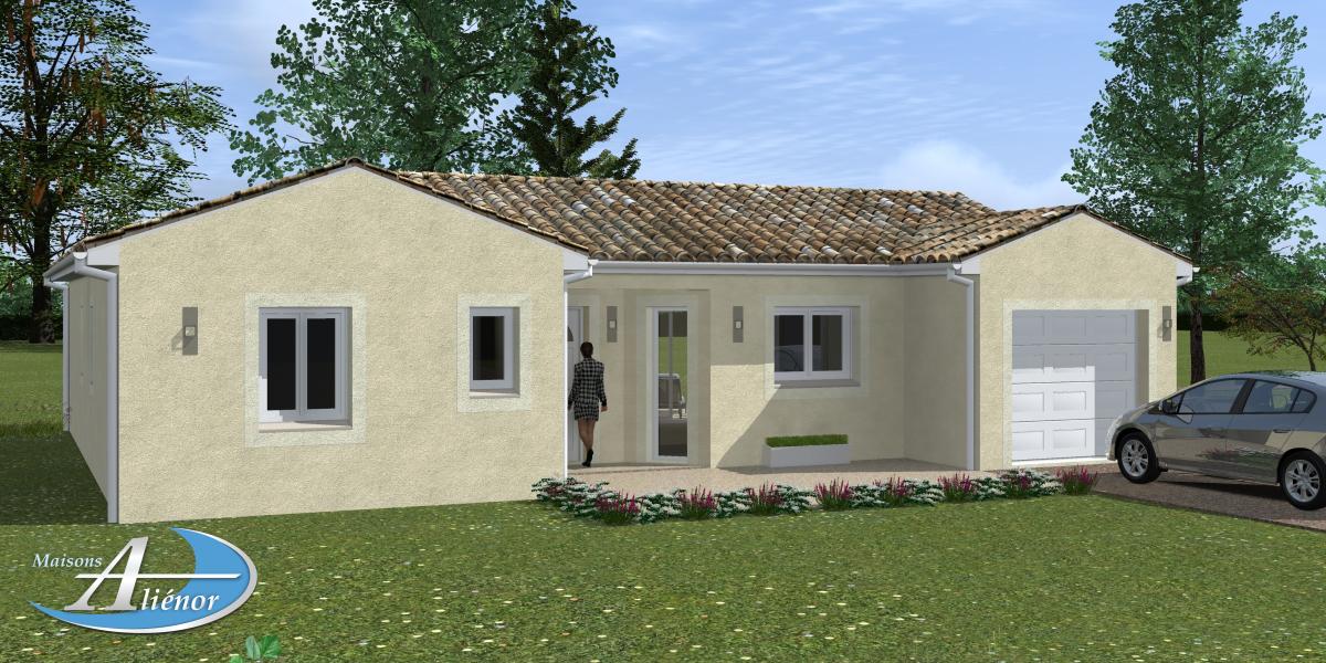Plan maison h b maisons ali nor for Maisons alienor