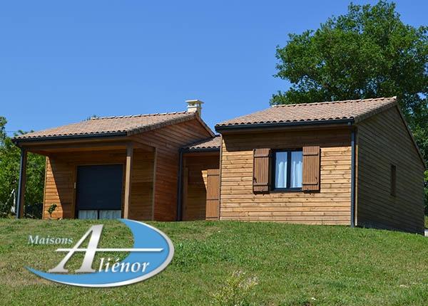 Maison réalisée à Souillac (46)