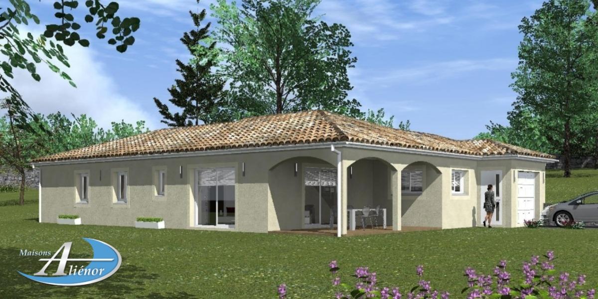 Plan maison horm maisons ali nor for Maisons alienor