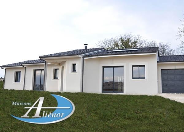 Maison réalisée à Champcevinel (24)