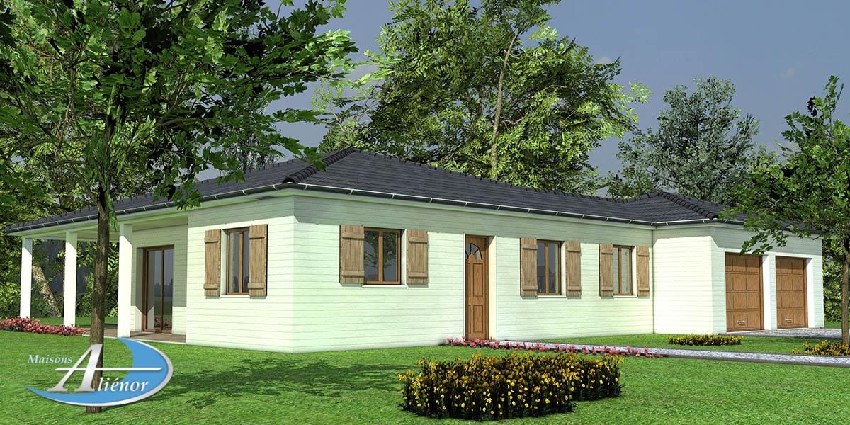 maison bois dordogne_constructeur bois_maison dugarry