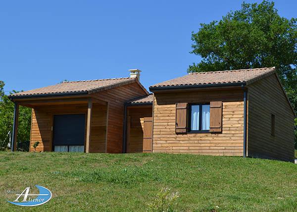 Maison bois Bergerac