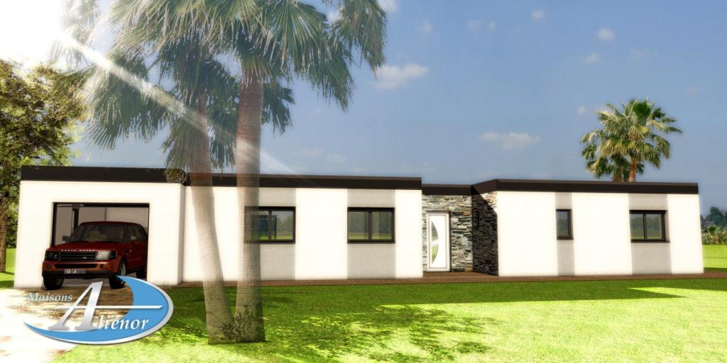 maisons alienor_constructeur de maison_plan maison architecte_architecte 24_toiture terrasse