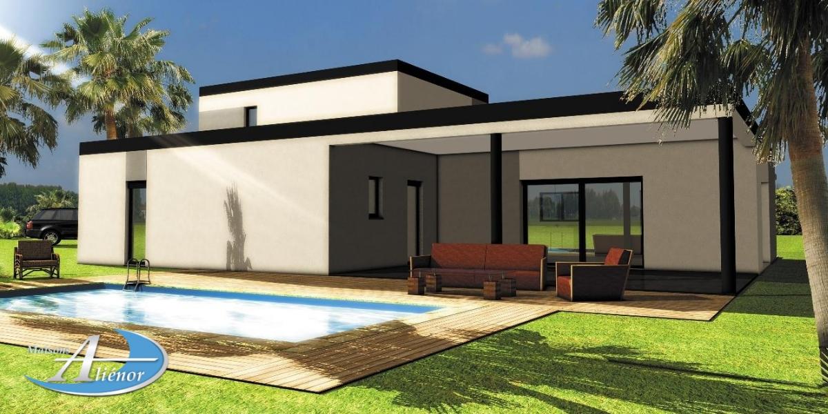 Maisons alienor maison moderne constructeur de maison for Toiture de maison moderne