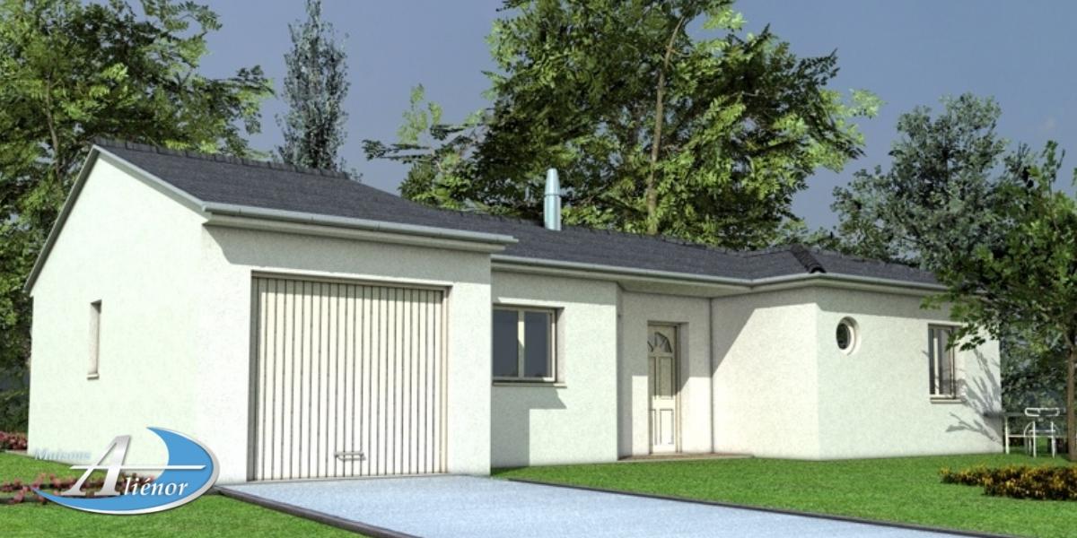 Plan maison art mis maisons ali nor for Maisons alienor