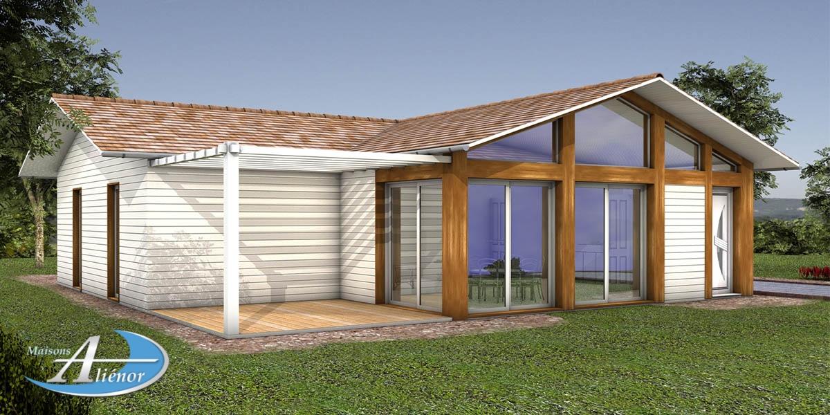 plan maison bois_construire en bois sarlat