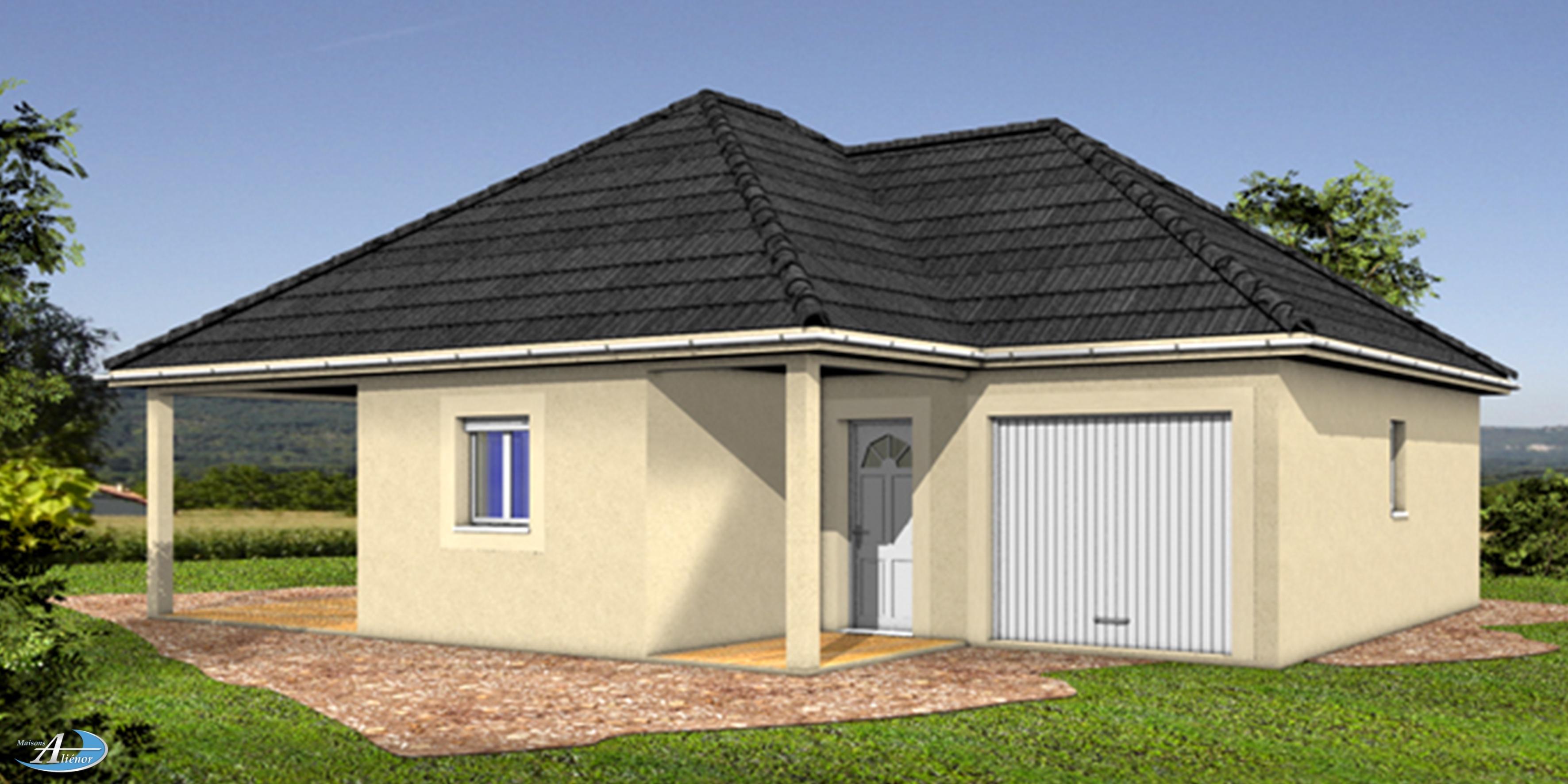 Plan maison cassilda maisons ali nor for Maisons alienor