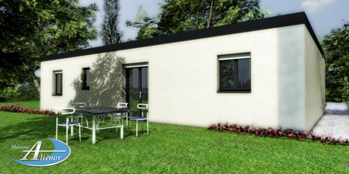 Plan maison moderne toit plat sarlat dordogne 24 maisons for Maisons alienor