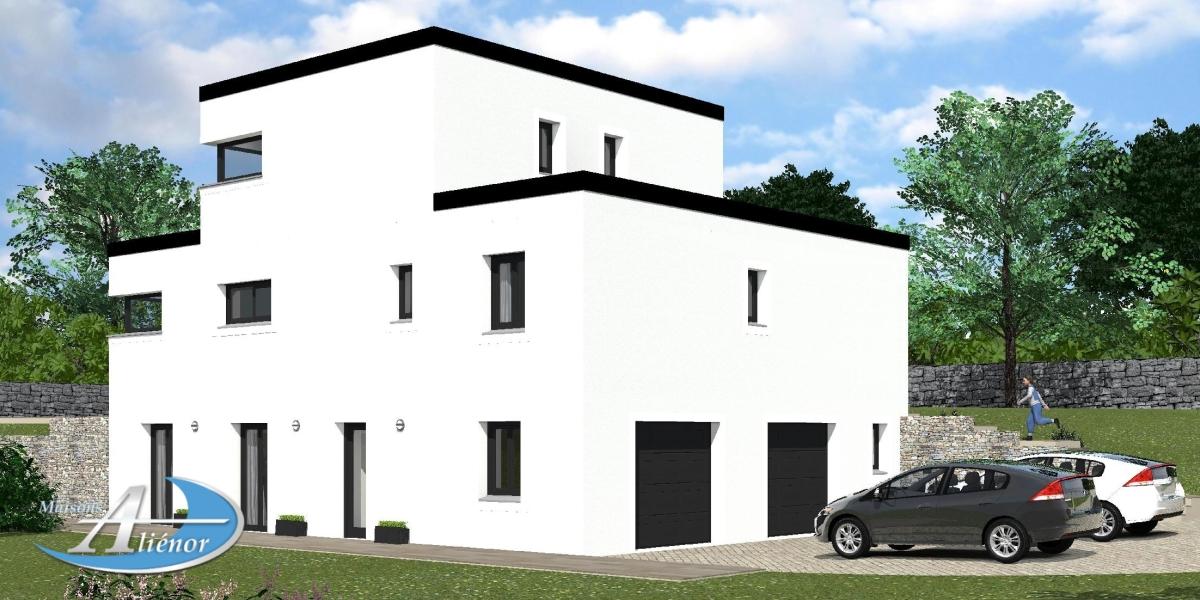 maison toit plat interesting maison toit plat m with maison toit plat good avis maison toit. Black Bedroom Furniture Sets. Home Design Ideas