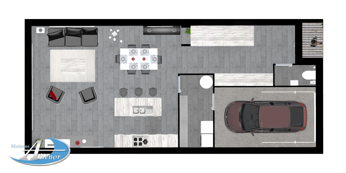 plan rez de chausse garage plan de maison rdc plan du rez de chausse plan maison rez de. Black Bedroom Furniture Sets. Home Design Ideas