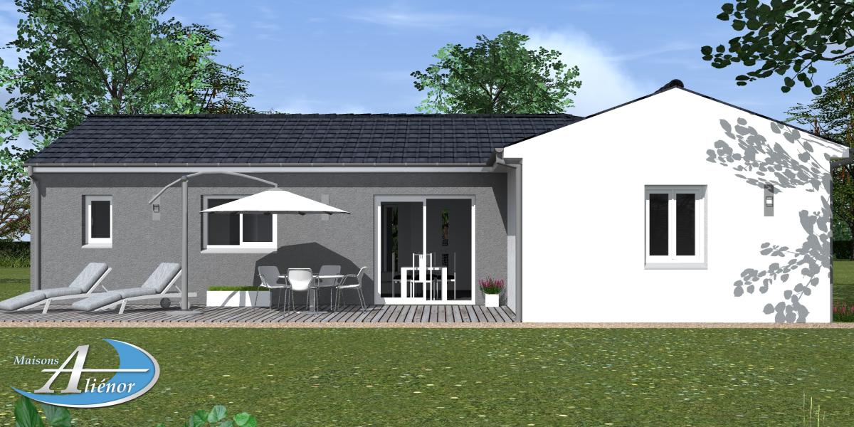 Plan maisons contemporaine 33 perigueux dordogne 24 for Maisons alienor