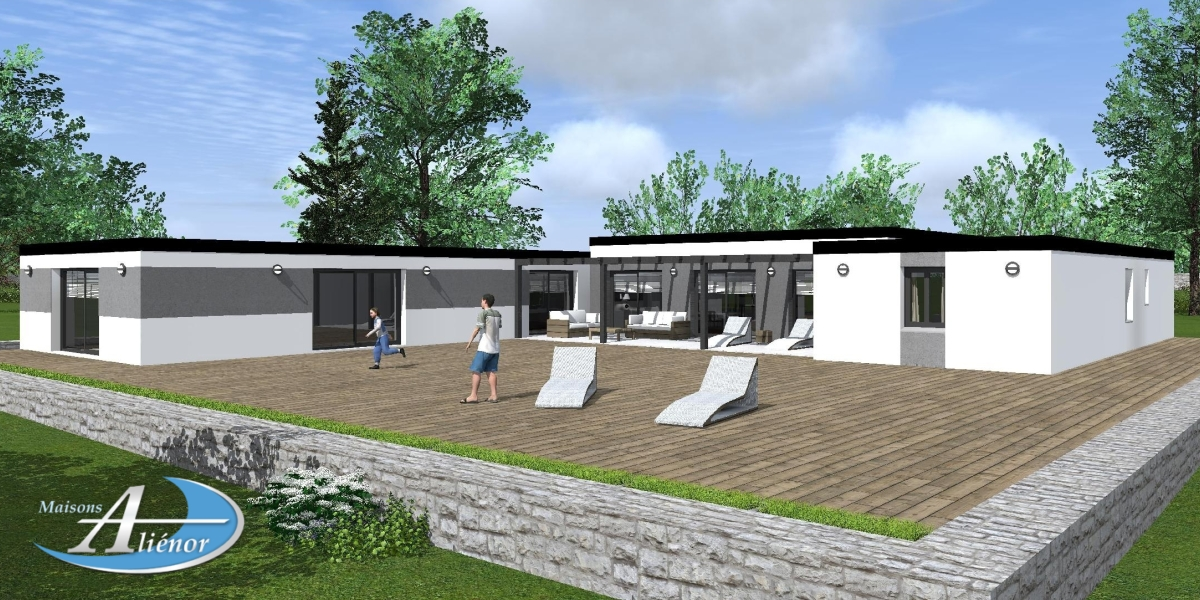 plan-maisons-moderne-toit-plat-brive-corrèze-19-maisons-alienor ...