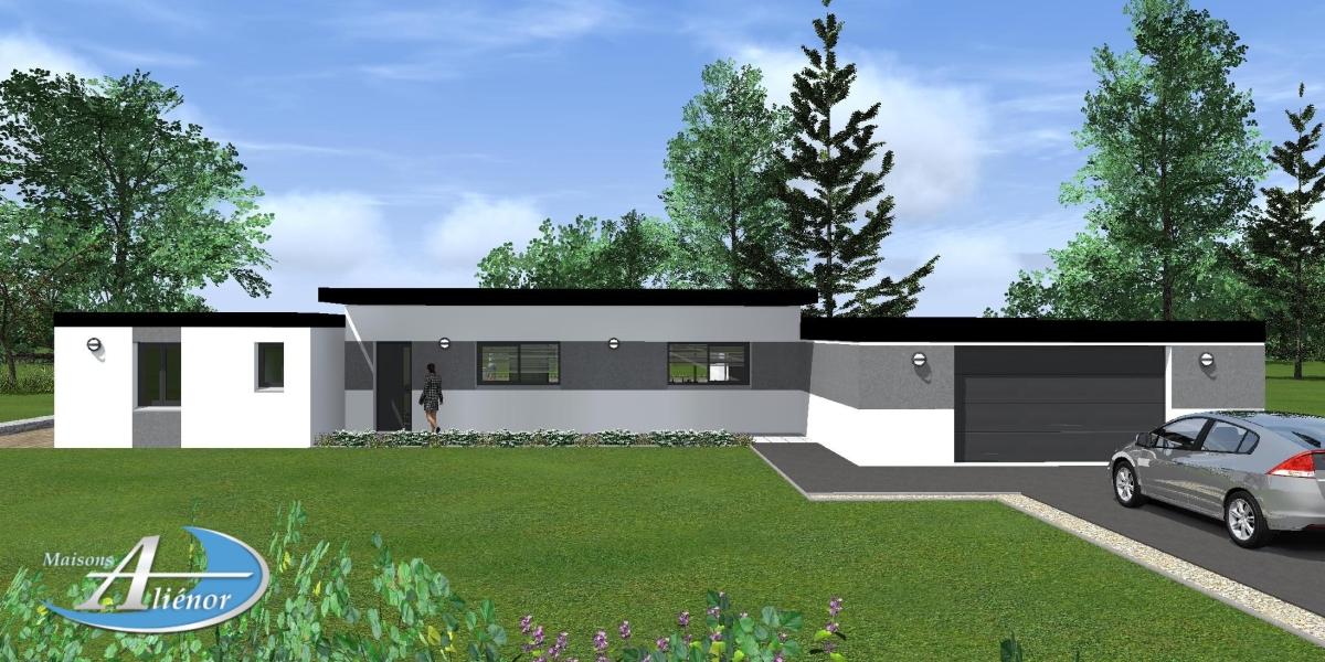 Plan maison Agrios - Maisons Aliénor
