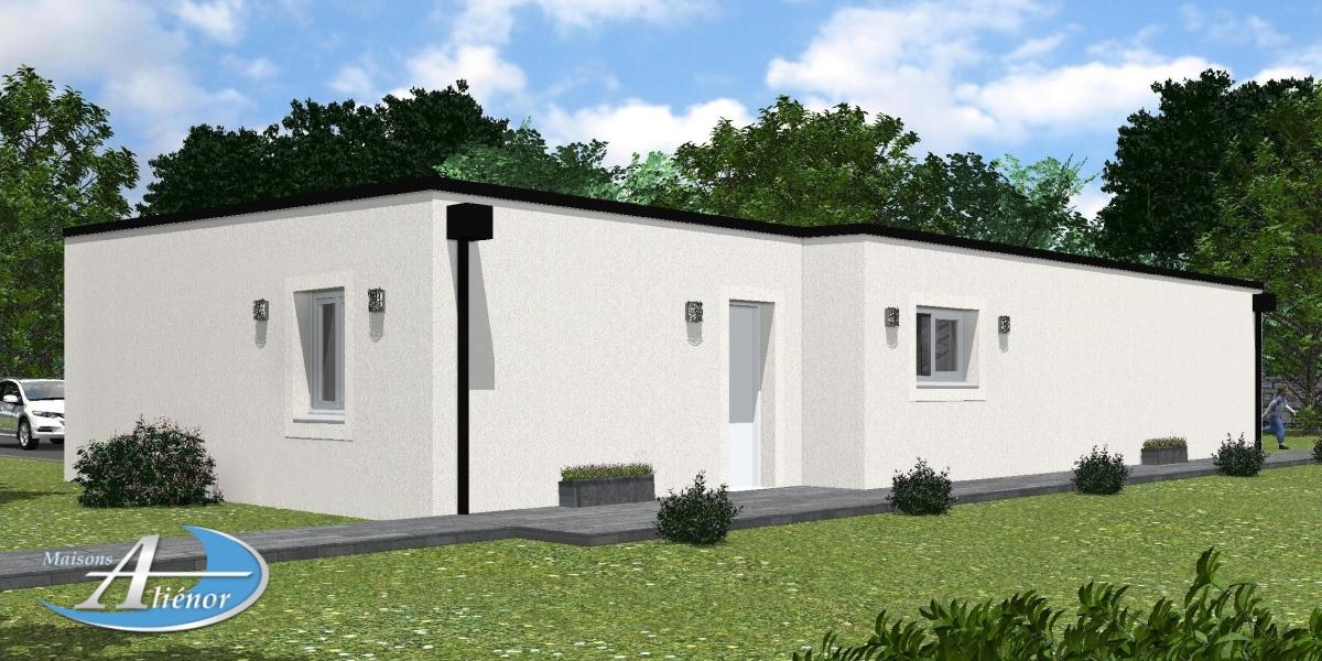 Plan Maisons Moderne Toit Plat Perigueux Dordogne 24 Maisons Alienor Maisons Alienor