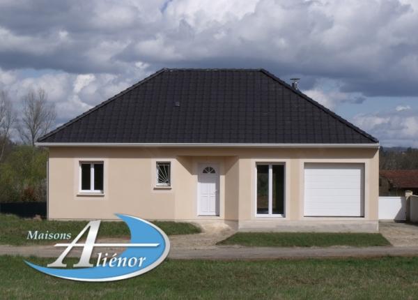 Maison réalisée à Perpezac (19)