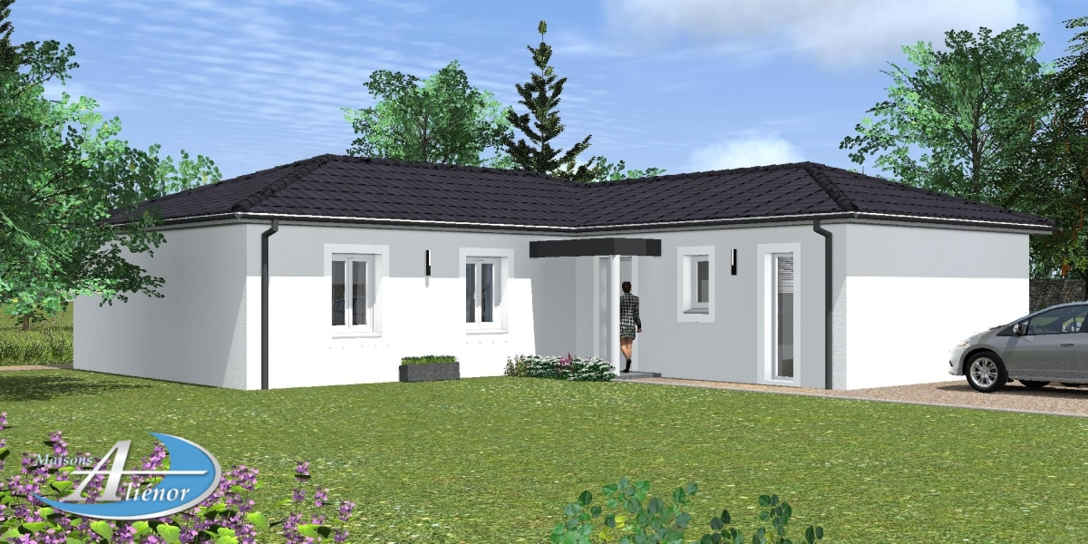 Plan maison styx maisons ali nor for Maisons alienor