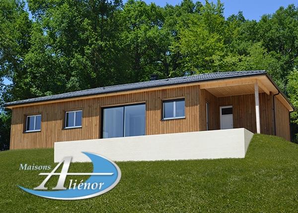 Maisons-alienor-constructeur de maisons bois individuelles en Dordogne, Lot et Corrèze, 24, 19, maison pas chère, RT 2012