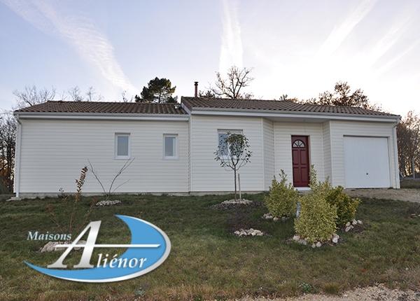 Maison réalisée à Marsaneix (24)