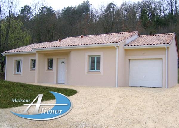 Maison réalisée à Figeac (46)