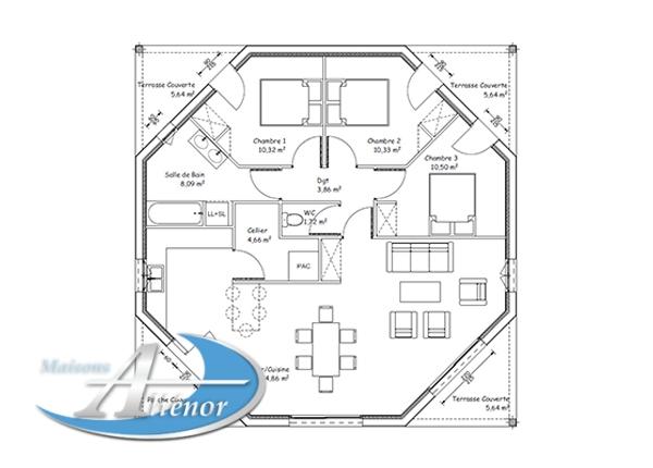 plan leroy merlin maisons ali nor. Black Bedroom Furniture Sets. Home Design Ideas