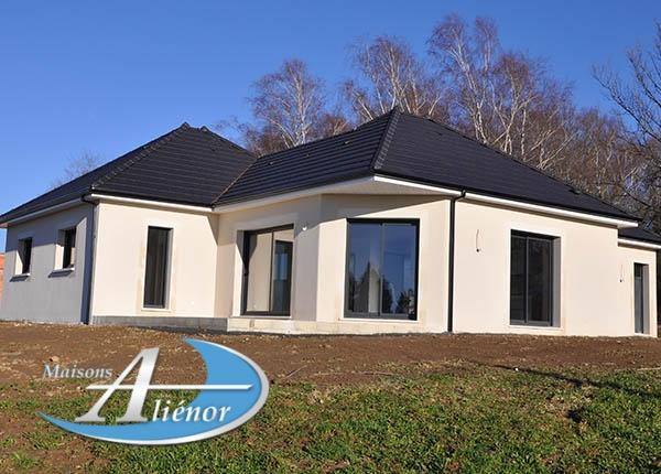 Maison réalisée à Ussac (19)