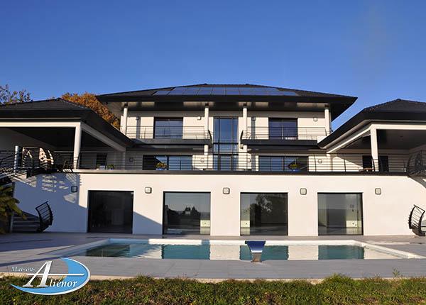 Maison moderne architecte