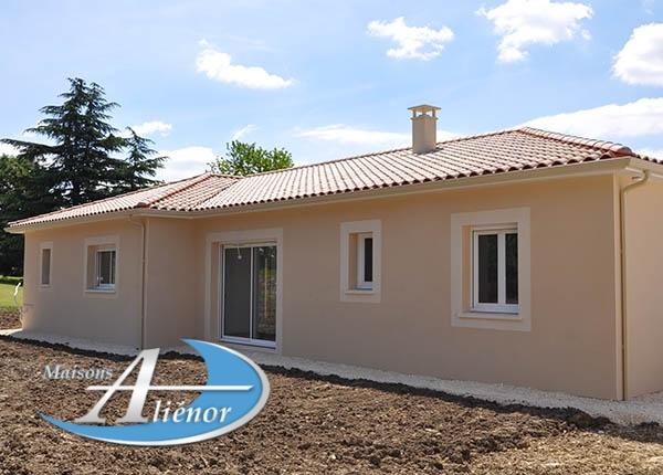 Maison réalisée à Lanzac (46)