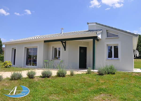 Maison alienor constructeur Gironde