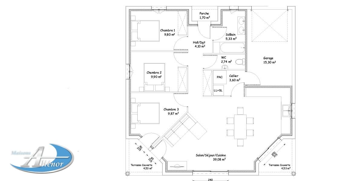 comparateur constructeur maison ventana blog. Black Bedroom Furniture Sets. Home Design Ideas