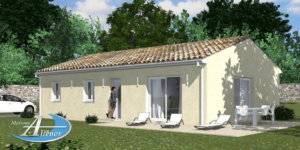 maison alienor bergerac-plan maison alienor-constructeur de maison 24