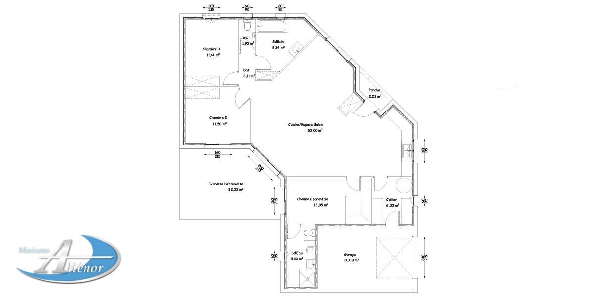 Plan De Maison Architecte plan maison w-plan maison moderne-plan maison architecte - maisons
