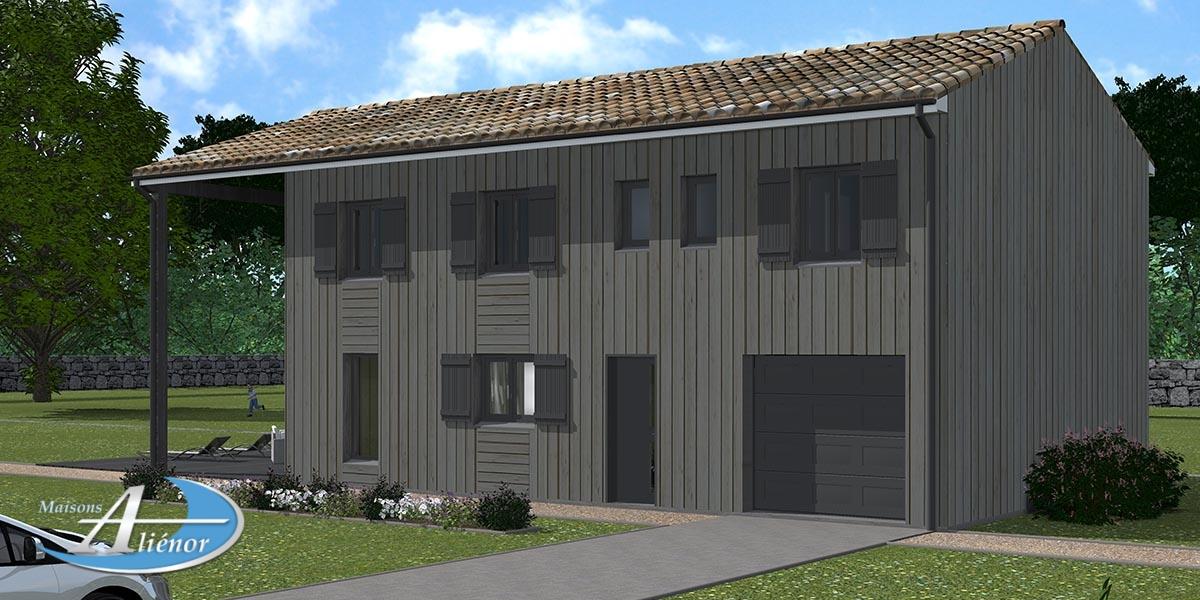 plan maison bois_constructeur de maison bois_construire en bois dordogne