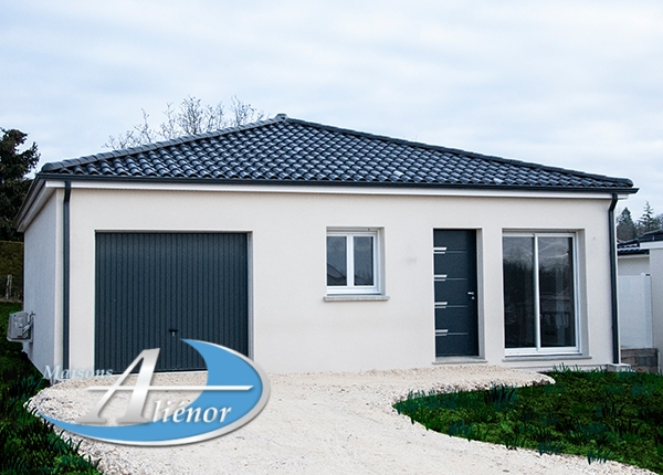 Maison réalisée à Trélissac (24)