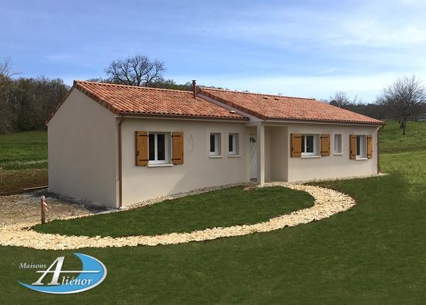 Maison réalisée à Corgnac-sur-L'isle (24)