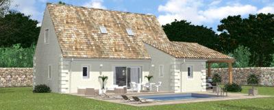Facades maison Hades construction Alienor 24 Dordogne (1)