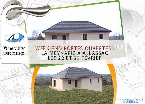 week-end-portes-ouvertes-Allassac-Maisons-Aliénor-Dordogne-Constructeur-de-maisons-individuelles-corrèze