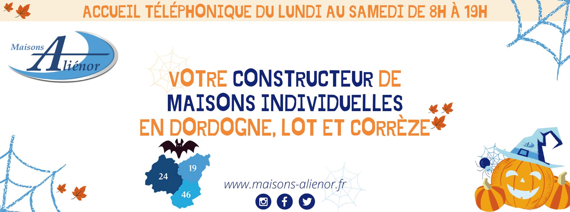 Site Web Bannière - mail Halloween-constructeur-de-maisons-individuelles-maisons-aliénor
